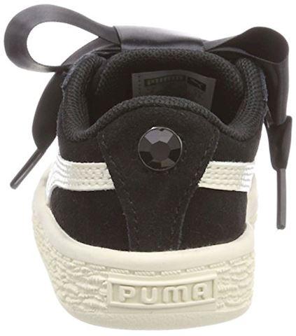 Puma Suede Heart Jewel Baby Trainers Image 2