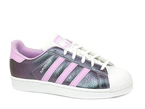a197ac8e8691 adidas SUPERSTAR J girls s Shoes (Trainers) in Purple Image