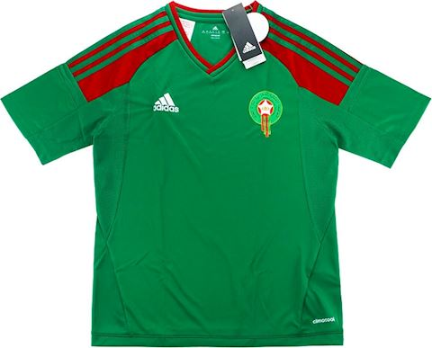 adidas Morocco Kids SS Away Shirt 2017 Image