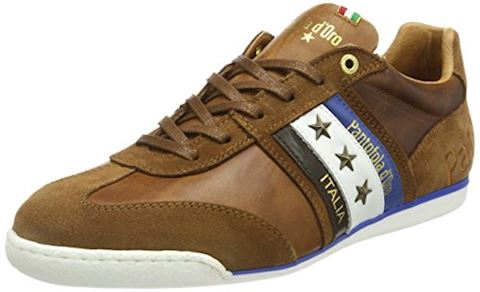 Pantofola d'Oro  IMOLA UOMO LOW  men's Shoes (Trainers) in Brown Image
