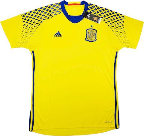 adidas Spain Mens LS Goalkeeper Away Shirt 2016 Image