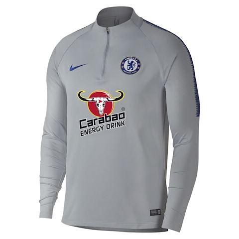 Nike Chelsea FC Dri-FIT Squad Drill Men's Long-Sleeve Football Top - Grey Image