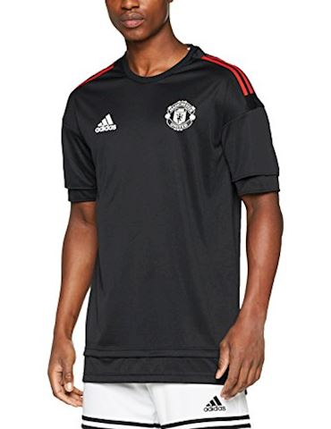 adidas Manchester United Training T-Shirt UCL - Black/Red Image