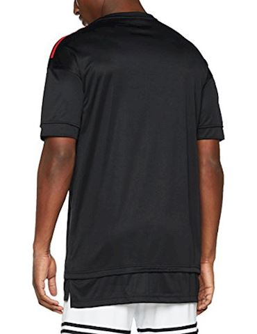 adidas Manchester United Training T-Shirt UCL - Black/Red Image 2