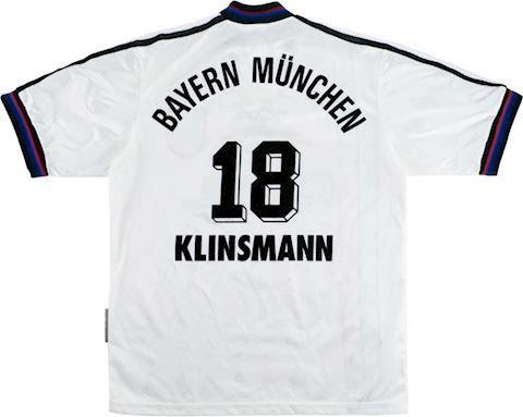 adidas Bayern Munich Kids SS Away Shirt 1995/96 Image
