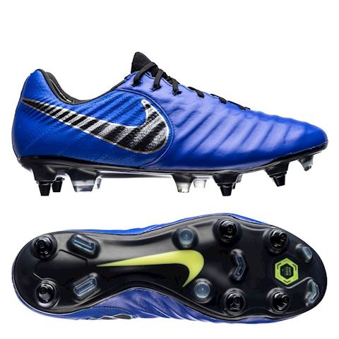 sports shoes b2274 b1ab1 Nike Tiempo Legend VII Elite SG-Pro Anti-Clog Soft-Ground Football Boot -  Blue