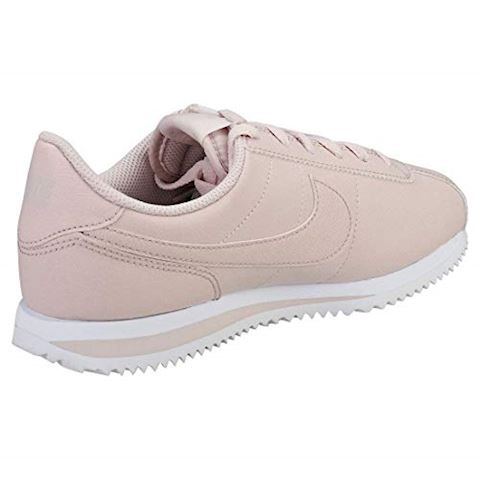Nike  CORTEZ BASIC SL SS GRADE SCHOOL  girls's Shoes (Trainers) in Pink Image 2