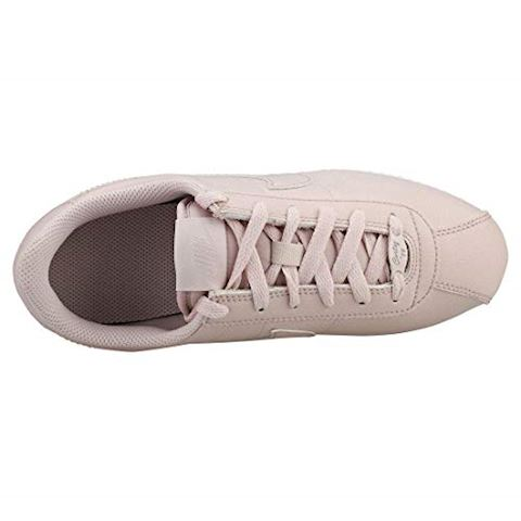 Nike  CORTEZ BASIC SL SS GRADE SCHOOL  girls's Shoes (Trainers) in Pink Image 4