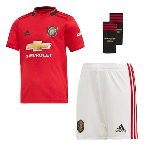3e44fa57be7 adidas Manchester United Kids SS Home Mini Kit 2019 20 Image