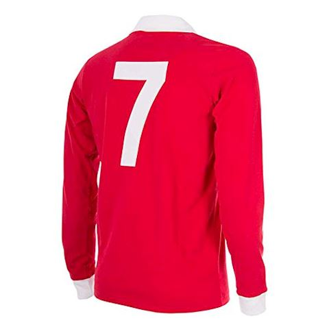 Manchester United Mens LS Home Shirt 1970/71 Image 2