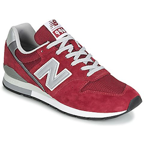 meet e0723 48246 New Balance 996 women's Shoes (Trainers) in Red