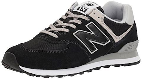 New Balance  ML574  men's Shoes (Trainers) in Black Image