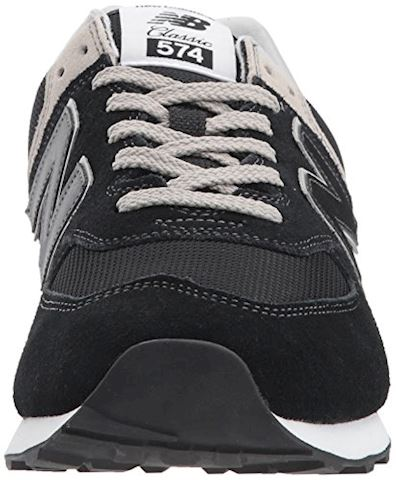 New Balance  ML574  men's Shoes (Trainers) in Black Image 4