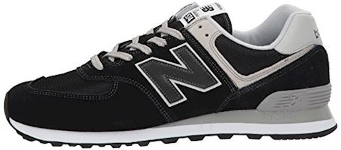 New Balance  ML574  men's Shoes (Trainers) in Black Image 5