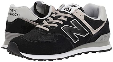 New Balance  ML574  men's Shoes (Trainers) in Black Image 6