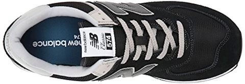 New Balance  ML574  men's Shoes (Trainers) in Black Image 8