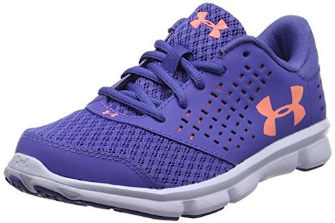 Under Armour GIrls' Pre-School UA Rave Running Shoes Image