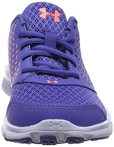 Under Armour GIrls' Pre-School UA Rave Running Shoes Image 4