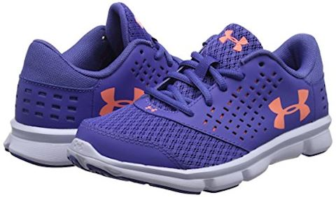 Under Armour GIrls' Pre-School UA Rave Running Shoes Image 5