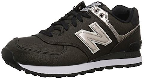New Balance  WL574  women's Shoes (Trainers) in Black Image