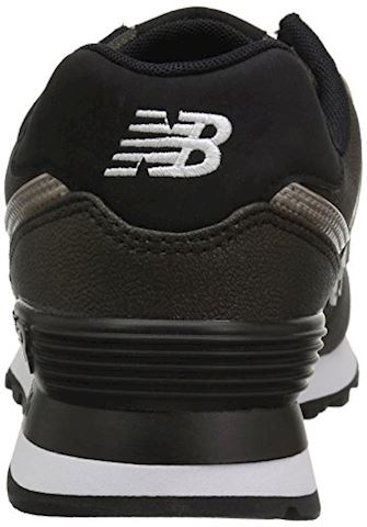 New Balance  WL574  women's Shoes (Trainers) in Black Image 2