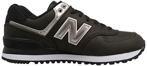 New Balance  WL574  women's Shoes (Trainers) in Black Image 7