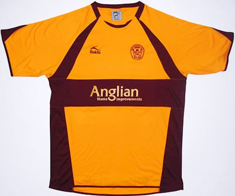 Motherwell Mens SS Home Shirt 2007/08 Image