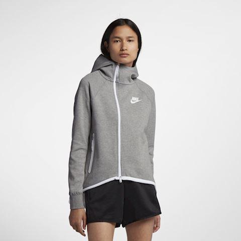 Nike Sportswear Tech Fleece Women's Full-Zip Cape - Grey Image