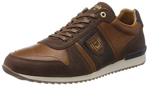 Pantofola d'Oro  TERAMO UOMO LOW  men's Shoes (Trainers) in Brown Image