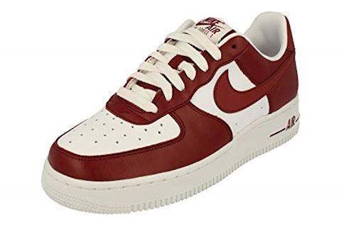 Nike Air Force 1 Low Men's Shoe - Red Image