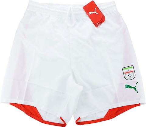 Puma Iran Mens Player Issue Home Shorts 2006 Image