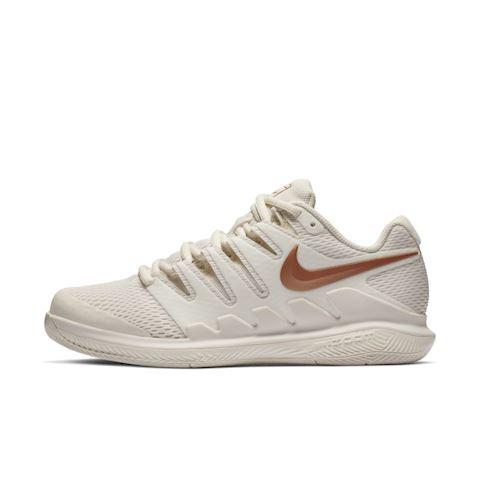 NikeCourt Air Zoom Vapor X Women s Hard Court Tennis Shoe - Cream Image 547f25f5b