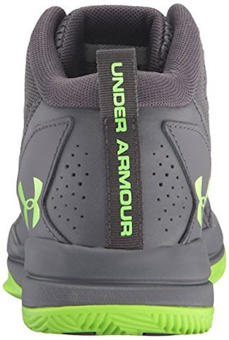 Under Armour Boys' Primary School UA Jet Mid Basketball Shoes Image 2