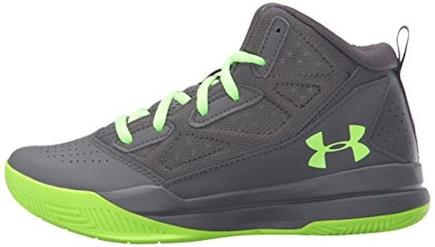 Under Armour Boys' Primary School UA Jet Mid Basketball Shoes Image 5
