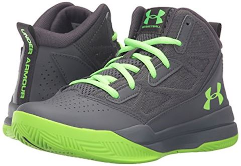 Under Armour Boys' Primary School UA Jet Mid Basketball Shoes Image 6