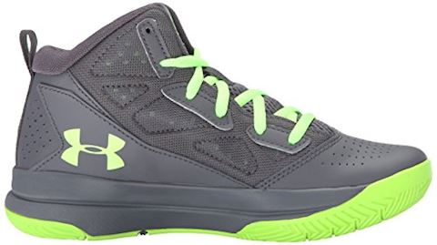 Under Armour Boys' Primary School UA Jet Mid Basketball Shoes Image 7