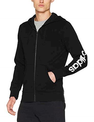 adidas Essentials Linear Fleece Hoodie Image