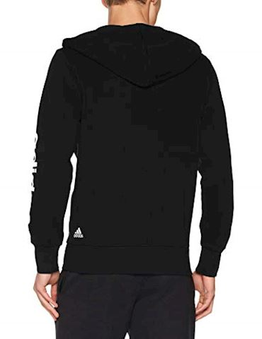 adidas Essentials Linear Fleece Hoodie Image 2