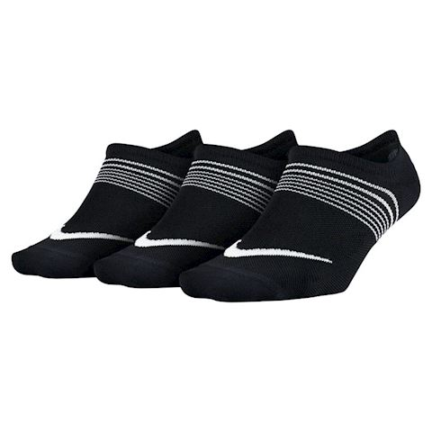 Nike Lightweight Training Socks (3 Pair) - Black Image