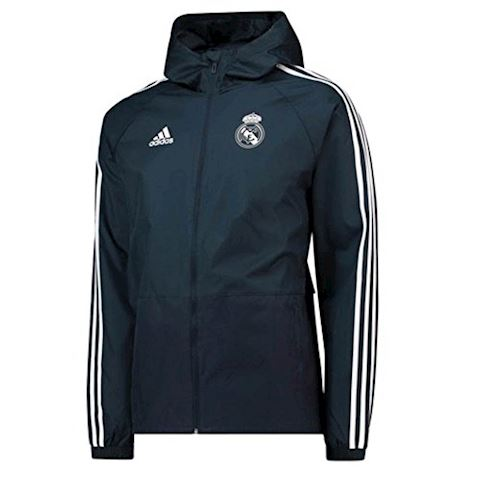 detailed images genuine shoes super popular adidas Real Madrid 18/19 Football Rain Jacket