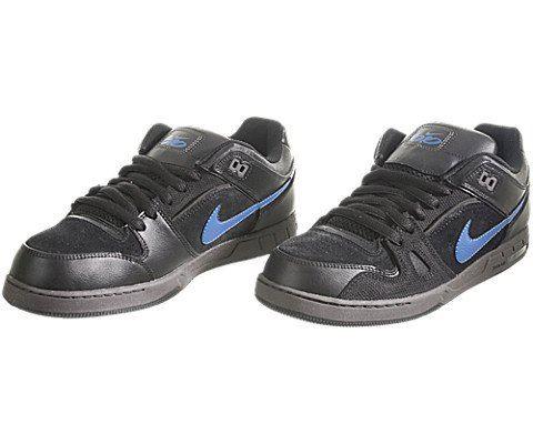 Nike SB Bruin Low Women's Skateboarding Shoe - Black Image 3