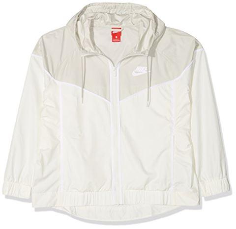 Nike Plus Size - Sportswear Windrunner Women's Jacket - Cream Image