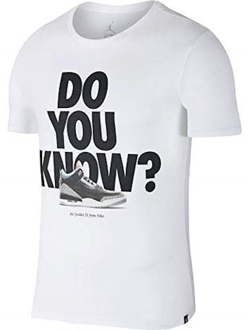 Nike Jordan Sportswear AJ 3 Men's T-Shirt - White Image