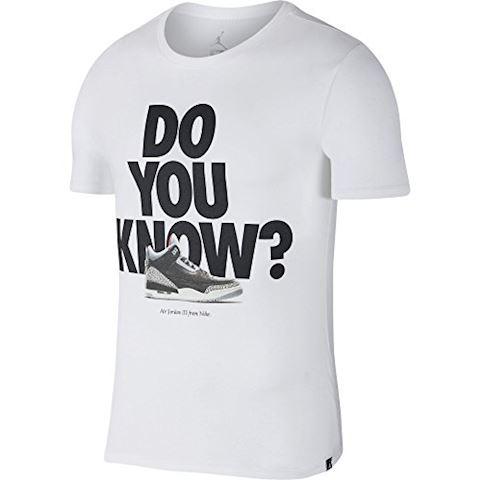 Nike Jordan Sportswear AJ 3 Men's T-Shirt - White Image 4