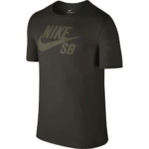 Nike SB Logo Men's T-Shirt - Olive Image