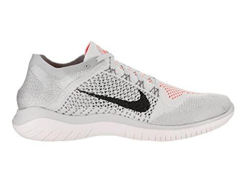 Nike Free RN Flyknit 2018 Men's Running Shoe - Silver Image 13