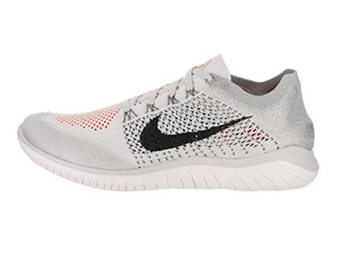 Nike Free RN Flyknit 2018 Men's Running Shoe - Silver Image 15