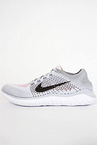 Nike Free RN Flyknit 2018 Men's Running Shoe - Silver Image 16