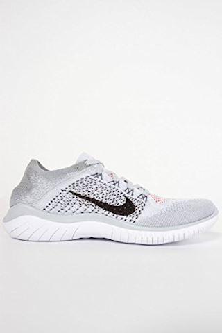 Nike Free RN Flyknit 2018 Men's Running Shoe - Silver Image 18