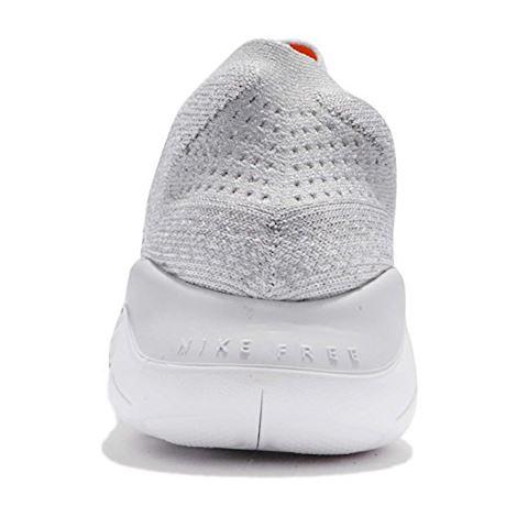 Nike Free RN Flyknit 2018 Men's Running Shoe - Silver Image 3